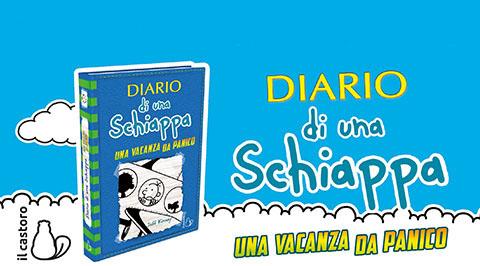 Diario di una Schiappa una vacanza da panico il nuovo libro
